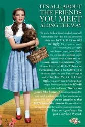 The Wizard of Oz movie poster: Friends [Judy Garland] 24x36