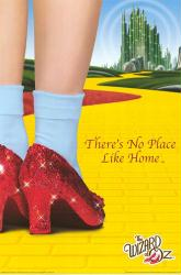 The Wizard of Oz movie poster [There's No Place Like Home] 24'' X 36''