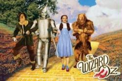 The Wizard of Oz movie poster: Yellow Brick Road [Judy Garland] 36x24