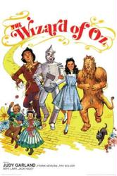 The Wizard of Oz movie poster [Judy Garland/Bolger/Haley/Lahr] 24 X 36