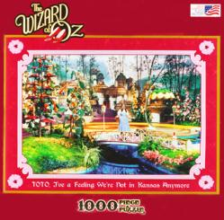 The Wizard of Oz 1000 piece jigsaw puzzle (Not In Kansas) Judy Garland