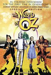 The Wizard of Oz movie poster (Special Edition) [Judy Garland]