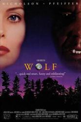 Wolf movie poster [Jack Nicholson, Michelle Pfeiffer] 27x40 video VG