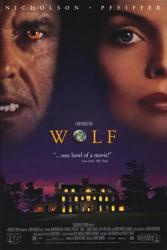 Wolf movie poster [Jack Nicholson, Michelle Pfeiffer] 27x40 video NM