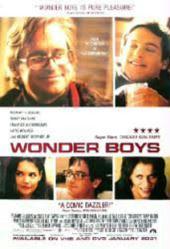 Wonder Boys movie poster [Michael Douglas, Tobey Maguire] 27x40 VG