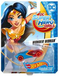 Hot Wheels Character Cars: DC Super Hero Girls Wonder Woman die-cast