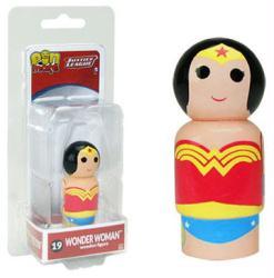 Justice League: Wonder Woman Pin Mate #19 wooden figure (Bif Bang Pow)
