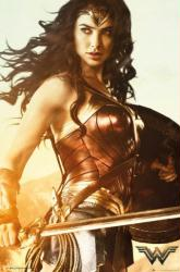 Wonder Woman movie poster: Sword [Gal Gadot] 24x36