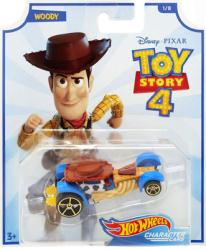 Hot Wheels Character Cars: Toy Story 4 Woody die-cast vehicle