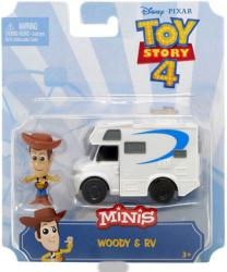 Toy Story 4 Minis: Woody & RV figure set (Mattel/2018)
