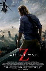 World War Z movie poster [Brad Pitt] original 27 X 40 one-sheet