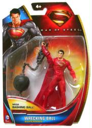 Man of Steel: Wrecking Ball Superman action figure (Mattel/2013)