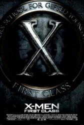 X-Men: First Class movie poster (2011) original one-sheet