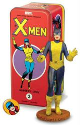 Classic Marvel Characters Series X-Men #3 Marvel Girl statue & tin box