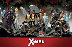 X-Men poster: Team (34x22) Marvel Comics