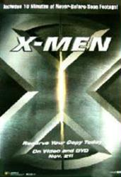 X-Men movie poster [a Bryan Singer film] video poster