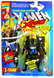 X-Men X-Force: X-Treme action figure with Axe Attack (ToyBiz/1994)