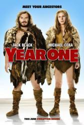 Year One movie poster [Jack Black & Michael Cera] a Harold Ramis film