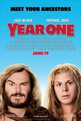 Year One movie poster [Jack Black & Michael Cera] one-sheet