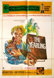 The Yearling movie poster [Gregory Peck/Claude Jarman Jr.] 27x41
