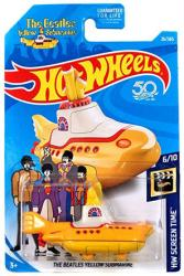 Hot Wheels HW Screen Time: Beatles Yellow Submarine die-cast vehicle