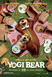 Yogi Bear movie poster (2010) Advance teaser