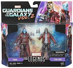 Marvel Legends Guardians of the Galaxy Vol 2 Yondu & Star-Lord figures