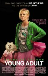 Young Adult movie poster [Charlize Theron] original 2011 one-sheet