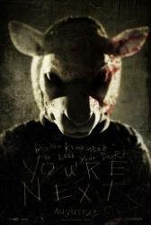 You're Next movie poster (original 27 X 40 advance)