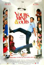 Yours, Mine and Ours movie poster [Dennis Quaid, Rene Russo] 27x40