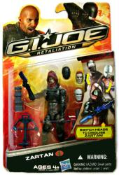 G.I. Joe Retaliation: Zartan action figure (Hasbro)