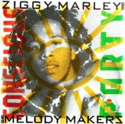 Ziggy Marley and the Melody Makers poster: Conscious Party album flat