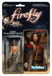 Firefly: Zoe Washburne ReAction action figure (Funko/2014)