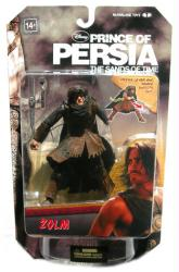 Prince of Persia: 5.5'' Zolm action figure (McFarlane/2010)