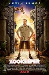 Zookeeper movie poster [Kevin James] one-sheet