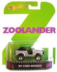 Hot Wheels Retro Entertainment: Zoolander '67 Ford Bronco diecast