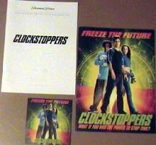 Clockstoppers [a Paramount Pictures film] rare Press Book Kit