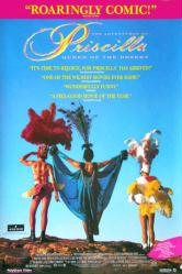 The Adventures of Priscilla: Queen of the Desert movie poster (VG)