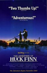 The Adventures of Huck Finn movie poster [1993] 26x40 video poster