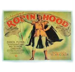 The Adventures of Robin Hood movie poster (1938) [Errol Flynn]