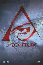 Aeon Flux movie poster (2005) original 27x40 advance teaser