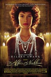 The Affair of the Necklace movie poster [Hilary Swank] 27x40