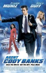 Agent Cody Banks movie poster [Frankie Muniz, Hilary Duff] 27x40