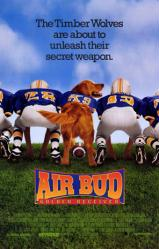 Air Bud: Golden Receiver movie poster (Disney) 27x40 original