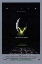 Alien movie poster [The Director's Cut] a Ridley Scott film