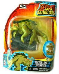 The Secret Saturdays: Alkali Lake Monster cryptid figure (Mattel/2009)
