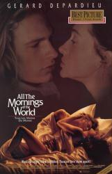 All the Mornings of the World movie poster [Guillaume Depardieu] video