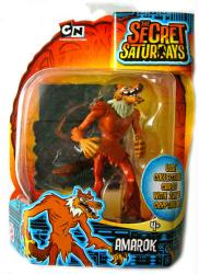 The Secret Saturdays: Amarok cryptid action figure (Mattel/2009) New