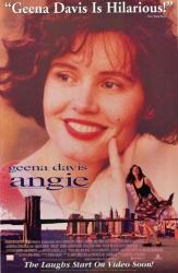 Angie movie poster [Geena Davis] 26x40 video version