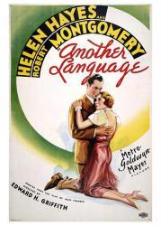 Another Language movie poster (1933) [Helen Hayes & Robert Montgomery]